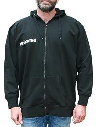 VANDAM 8810 Sweat à capuche Noir- Grandes Tailles - Hommes 3XL-10XL