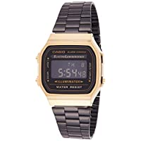 Casio Casual Watch Digital Display for Unisex A-168WEGB-1B