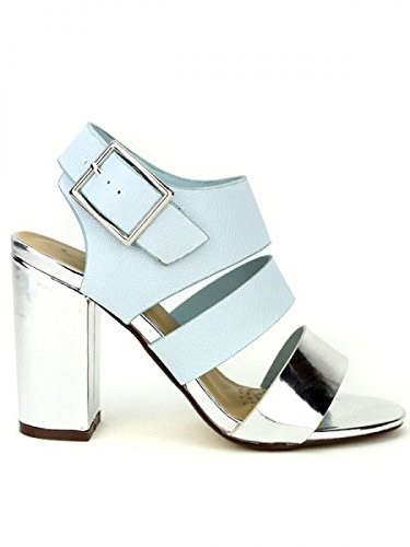Cendriyon, Sandale blue clair C'MODANA Chaussures Femme Bleu