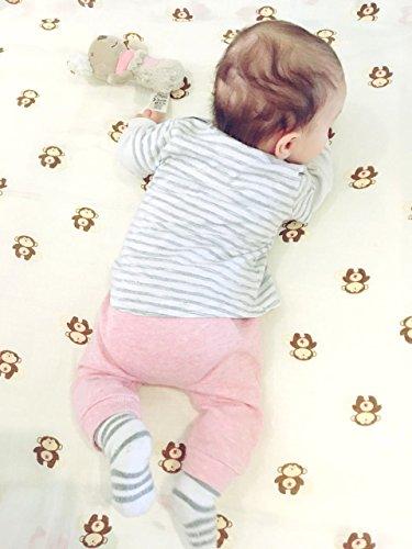 Baby Wickeltücher von Mutterliebe, 2er Pack, 100 x 100cm, 100% Baumwolle, Geschenk zur Geburt, Babyparty, Wickeltuch, Pucktücher, Mulltücher, Babydecke, Kinderwagendecke