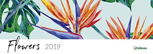Flowers 2020 Tischquerkalender