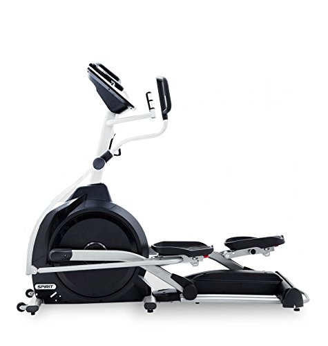 Spirit Elliptical XE 395 – Ellipsentrainer, Cross Trainer mit Hand-Puls-Sensoren, Ergometer, Cardio Fitness - 3