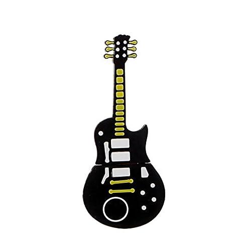 Ouneed® Guitar USB 2.0 8GB Flash Drive Pen Drives U Disk (Noir 4g)