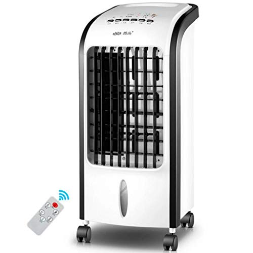 Kleiner tragbarer Klimaanlagenlüfter, Home Silent Verdunstungskühler Mobile Klimaanlage Kälteklimaanlage 7-Stunden-Timer und 5-Liter-Wassertank Für den Heim- oder Bürogebrauch -