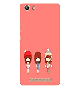 EPICCASE Best friends case Mobile Back Case Cover For Gionee Marathon M5 lite (Designer Case)