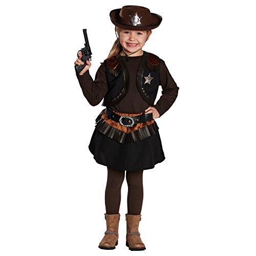 inder-Kostüm Little Cowgirl, Gr. 152 ()