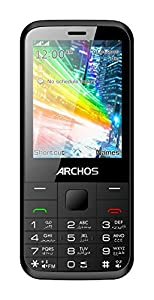 Archos F28 Téléphone portable débloqué 2G (Ecran: 2,8 pouces - Double SIM) Noir