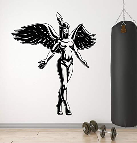Christian Goddess Angel Wings Religion Christentum Religiöse wohnzimmer schlafzimmer wohnkultur Wandaufkleber42x51 cm ()
