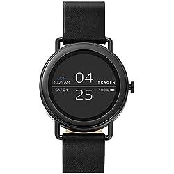 Skagen Reloj Digital para Unisex de Cuarzo con Correa en Cuero SKT5001