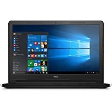 "New Dell Inspiron Premium 15.6"" HD LED-Backlit Display Laptop PC With Intel Celeron Dual-Core Processor 4GB RAM 500GB HDD WiFi Bluetooth HDMI DVD-RW Webcam MaxxAudio Windows 10, Black"