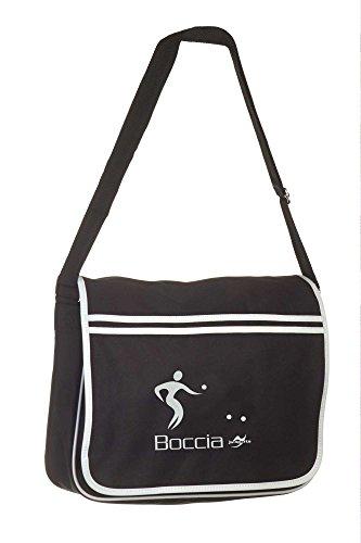 Retro Messenger Bag BG71 schwarz Boccia