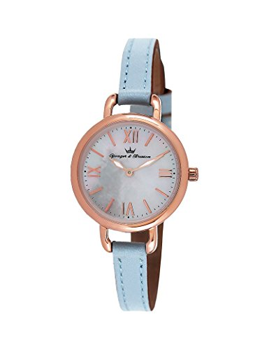 Reloj Yonger & Bresson Mujer Nácar blanca–DCR 051/BG–Idea regalo Noel–en Promo