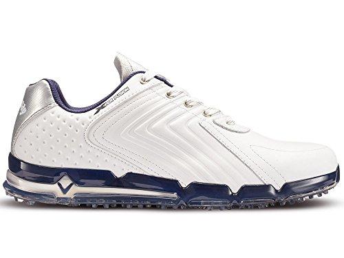 Callaway X-Series-Xfer Fusion,Chaussures de golf homme (Blanc/Bleu), 43 EU