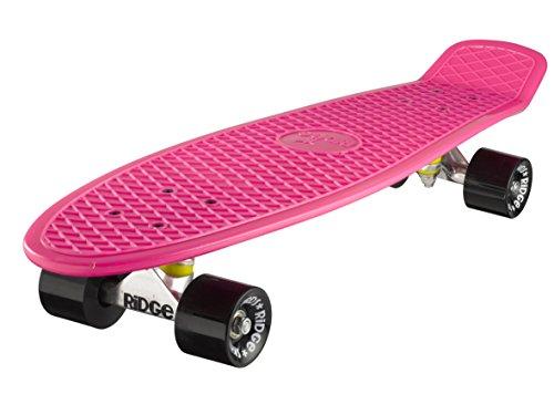 Ridge Skateboard Big Brother Nickel 69 cm Mini Cruiser, rosa/schwarz (Board Zoll-schwarz 27 Penny)