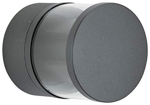 Albert 622315 außenwand Spot, aluminium, Integrated, noir