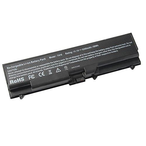 0578 Laptop Akku (ARyee 5200mAh 11.1V T510 Batterie Laptop Akku Ersatz für Lenovo IBM Thinkpad Sl410 Sl510 T410 T410i T410 T510 T510 E520 Serie)