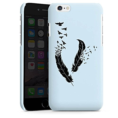 Apple iPhone 4 Housse Étui Silicone Coque Protection Ressort Oiseaux Paix liberté Cas Premium brillant
