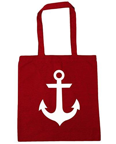 hippowarehouse-sac-de-plage-femme-rouge-taille-unique