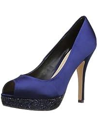 Menbur Pousseur - Zapatos de vestir de satén para mujer