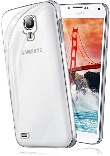 moex Samsung Galaxy S4 | Hülle Silikon Transparent Klar Clear Back-Cover TPU Schutzhülle Dünn...