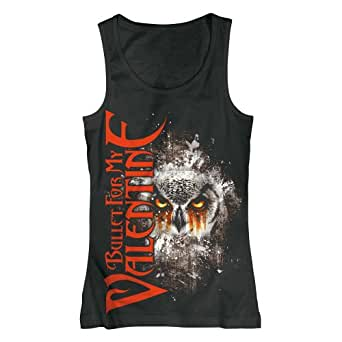 Bullet for my Valentine Tank Top - Owl Eyes Racerback (L)