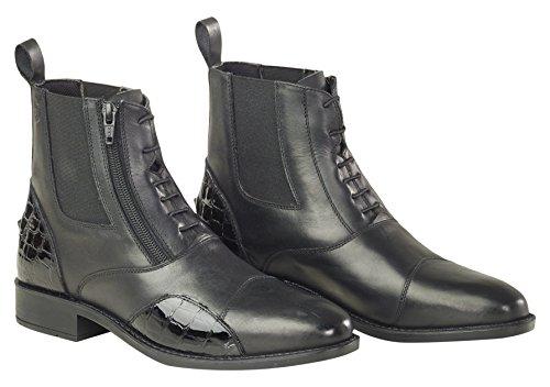 Just Togs Altilia Short, stivali da equitazione Black