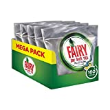 Fairy Platinum Detersivo in Caps per Lavastoviglie, Maxi Formato da 160 Pastiglie, Regolare