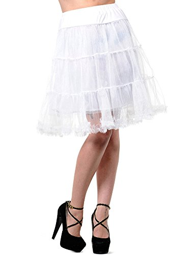 Banned Petticoat (Weiß) - Medium
