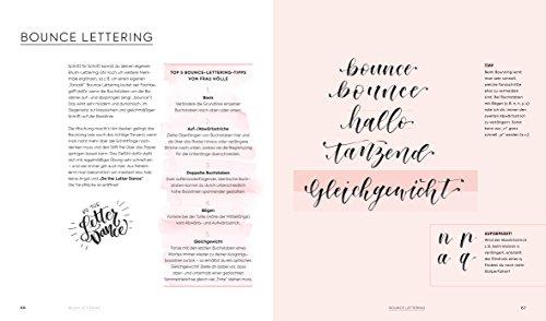 Handlettering Alphabete: Schritt für Schritt zur eigenen Schönschrift – 2 Maxi Poster mit allen Schrift-Vorlagen zum Abpausen - 2