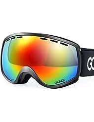 Gonex lunettes de ski Lunettes de soleil lunettes de protection lunettes de sport