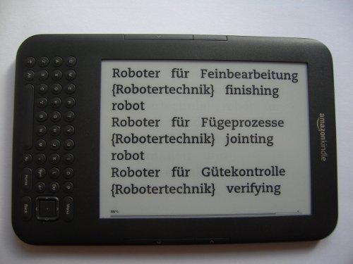 Woerterbuch Automation/ Roboter-Technik (deutsch-englisch Fachuebersetzungen)