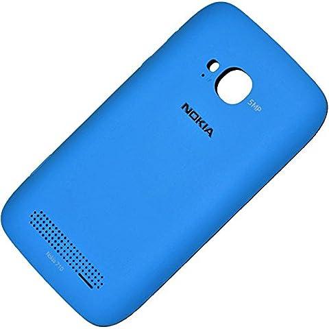 Nokia Lumia 710 Original CC-3033 Schutz-Hülle Cyan Rück-Schale Gehäuse Back