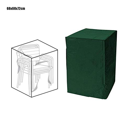 hook.s Patio Stuhlhussen, stapelbar 210D wasserdicht staubdicht Möbel Weihnachtsbaumstaubabdeckung Geeignet für die meisten Einzelsofas, Klappstühle -