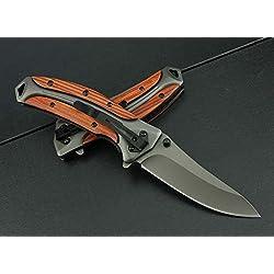 REGULUS KNIFE Couteau de Poche de Survie en Plein Air Couteaux Pliant Sauvetage DA 58
