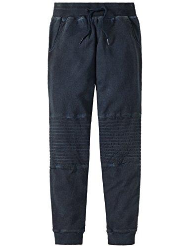 Schiesser Jungen Schlafanzughose Mix & Relax Sweatpants Blau (Nachtblau 804), 164 (Herstellergröße: M)