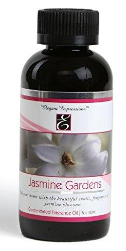 Hosley Highly Fragranced Jasmine Gardens Oil Bottle