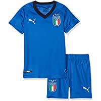 Puma 752288 01 Camiseta de Equipación, Niños, Azul (Team Power Blue/Peacoat), 116