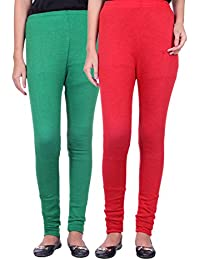 Belmarsh Warm Leggings - Pack of 2 (Green_Red)