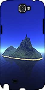 Snoogg Landscape Designer Protective Back Case Cover For Samsung Galaxy Note 2