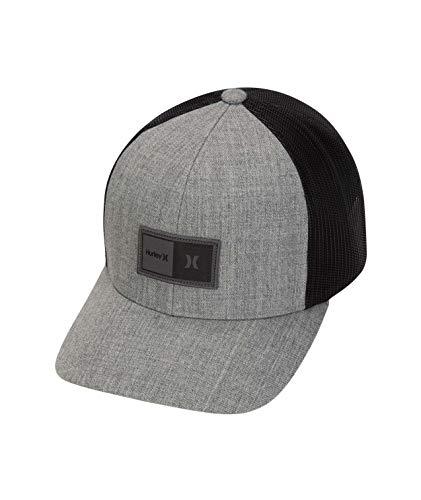 Hurley The Regular Hat Gorras, Hombre, Grey Htr, 1SIZE