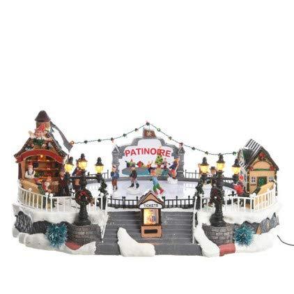 Village de Noël Patinoire illuminée et musicale Aspen