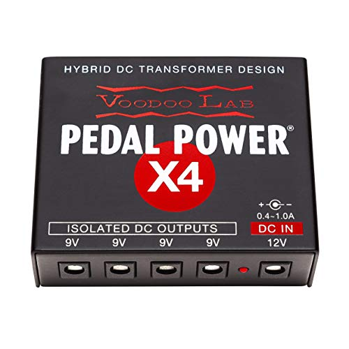 Voodoo Lab Pedal Power X4