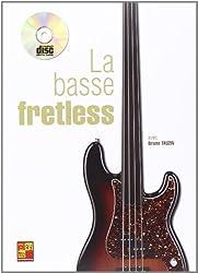Tauzin Bruno La Basse Fretless Bass Guitar Book/Cd French
