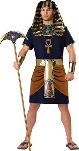 InCharacter Kostüm 197118 Ägyptischen Mann Kostüm - Schwarz - Extra Groß
