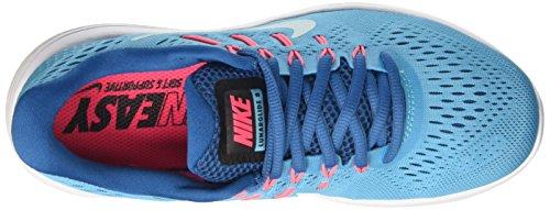 Nike Wmns Lunarglide 8, Scarpe da Corsa Donna Blu (Chlorine Blue/glacier Blue/industrial Blue)