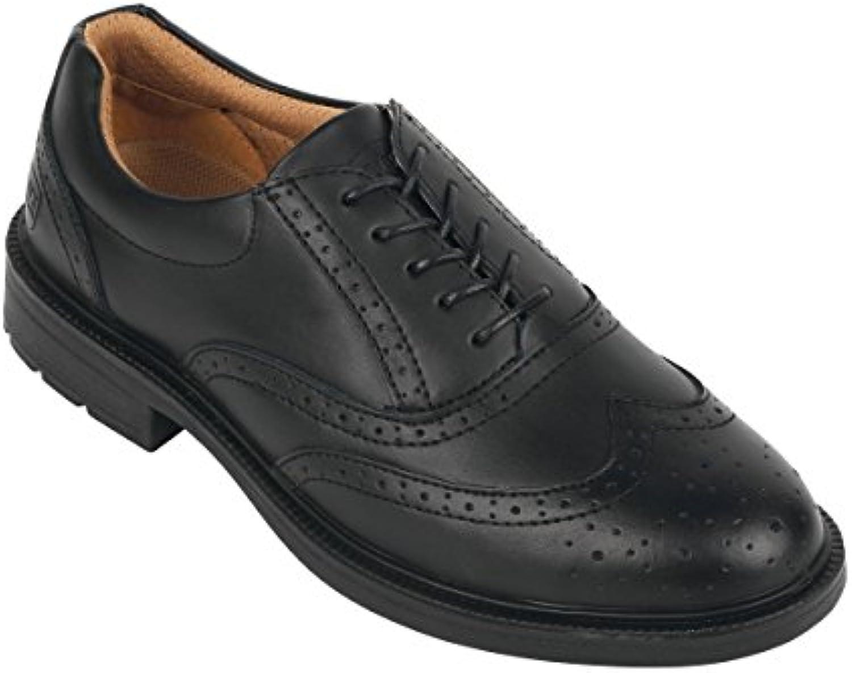 City cavalieri Brogue Executive calzature di sicurezza, Coloreeee  Nero, taglia  7 | Di Alta Qualità E Poco Costoso  | Scolaro/Ragazze Scarpa