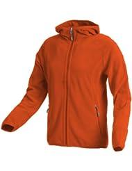 CMP - F.lli Campagnolo Kapuzen Jacke - Forro para mujer, color naranja, talla DE: D34