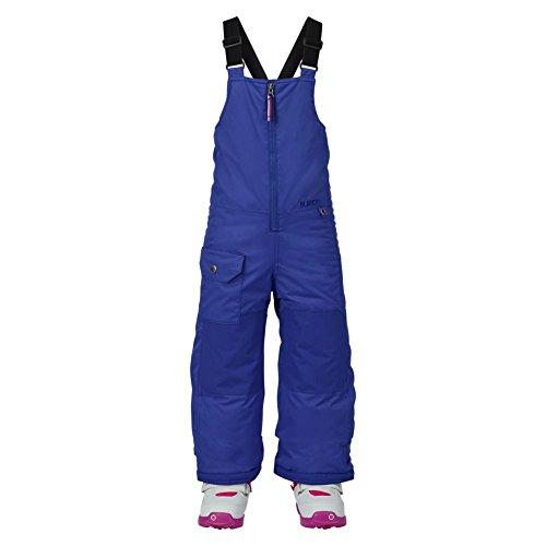 Burton 10145102505-Giacca da snowboard con bretelle pettorina, Bambina, Snowboardhose MINISHRED MAVEN BIB PANT, Sorcerer