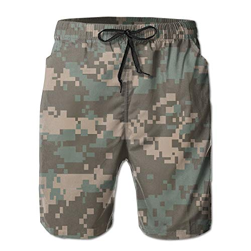 Bag hat Men Quick Dry Surf Swim Trunks Camouflage Beach Shorts Small - Asics-lounge