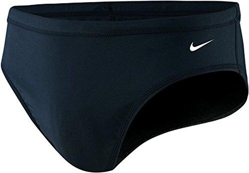 Nike Herren Nylon Core Solid Slip Badeanzug, schwarz, Herren, schwarz (Nike Slip)